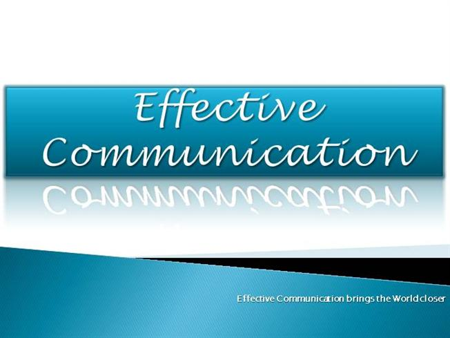 how to use effective communication skills