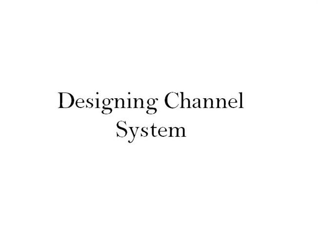 designing channel systems Structural studs, may be used in a variety of applications and designs while most conditions require the expertise of a design professional, many systems can be selected based on tabulated data or design tools.