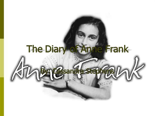 expository essay on the diary of anne frank If you prefer to give a written test in place of or in addition to a project on anne frank: the diary of a young girl, this is a test i have given.
