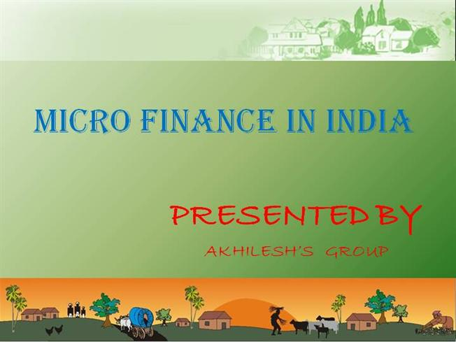 microfinance in indian context Microfinance in india provides an informative and holistic status of microfinance in the country and suggests a road map for the future a valuable source of information for policy makers, finance and management students, and professionals alike, it is a collection of essays by experts from diverse backgrounds on topical themes that capture the complexities of the continuously evolving microfinance sector in india.