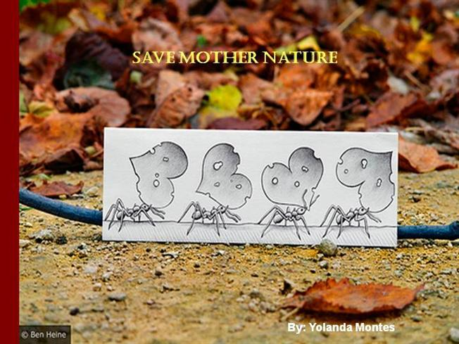 save mother nature Save mother earth: tips to save the environment more and more people are becoming aware of the importance of saving mother earth indeed, the sense of urgency behind the drive to save the.