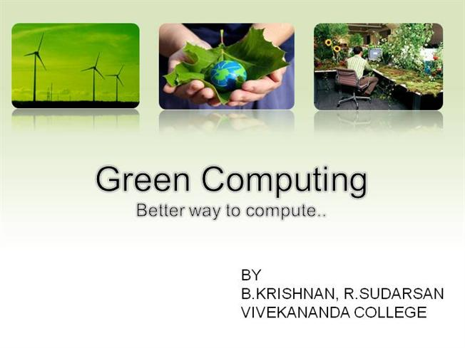 green computing research