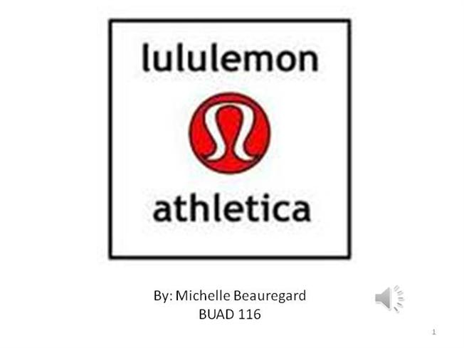 lululemon video marketing authorstream. Black Bedroom Furniture Sets. Home Design Ideas