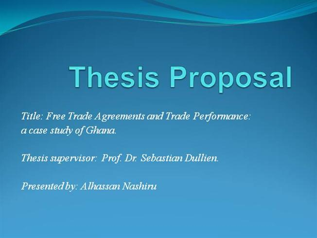 thesis proposal defense presentation 3313