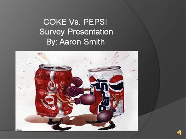coke vs pepsi war case study A brief history of the coke vs pepsi wars in 1985 coke and pepsi literally blasted off into space onboard the rt to end an old war: dear @pepsi and.