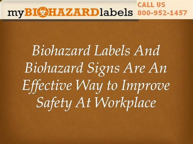 biohazard labels and biohazard signs are an effective way to impro authorstream. Black Bedroom Furniture Sets. Home Design Ideas