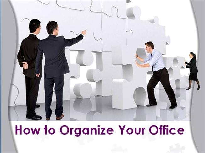 How To Organize Your Office Authorstream