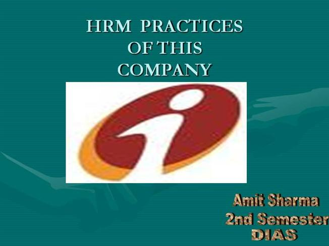 hrm practice What is the status of human resource management (hrm) practices in textile the research study was conducted to determine the impact of hrm practices on employee.