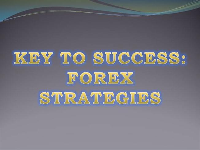 The key to success in the forex business