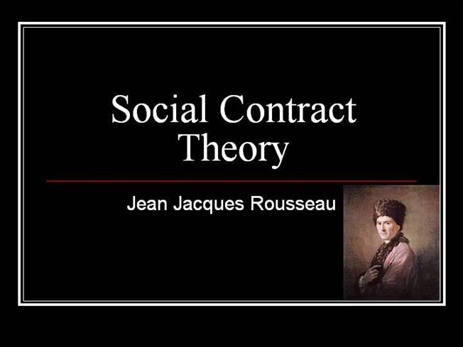 a research on jean jacques rousseau and the social contract theory Research categories  rousseau, jean-jacques the social contract and other later  social contract a theory of social order that was popular in the.