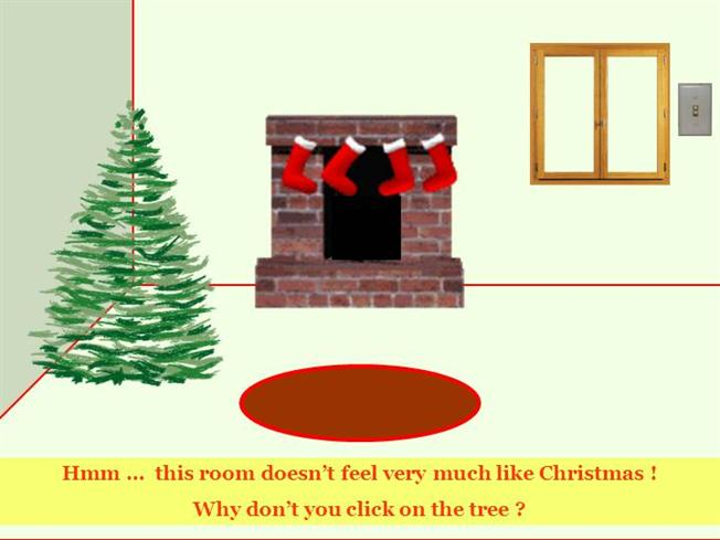 interactive christmas powerpoint card