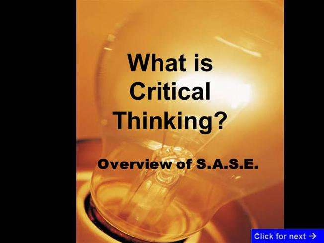critical thinking presentation hum 111 Hum 111 introduction to humanities, honors: an introduction to the  course is  designed to meet the critical thinking learning outcome of the ku core.