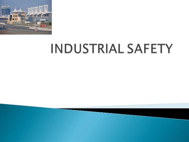 industrial safety powerpoint presentation