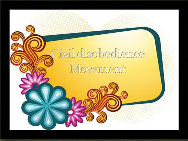 Civil disobedience movement india pdf creator