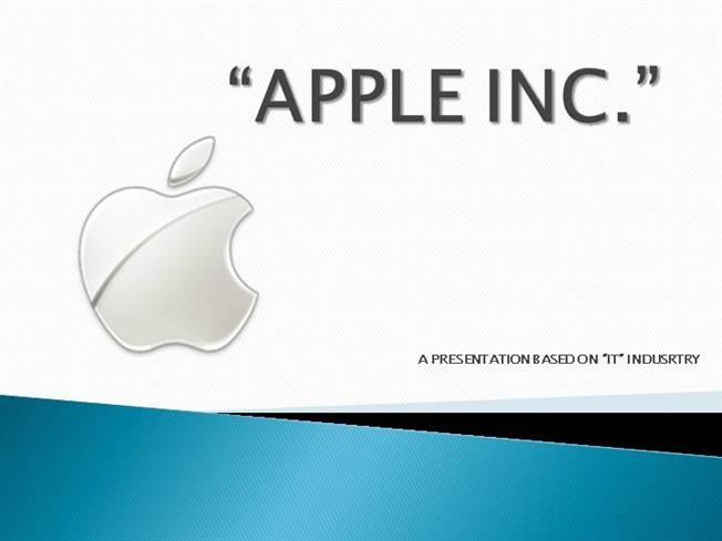 steve jobs powerpoint template - apple inc authorstream