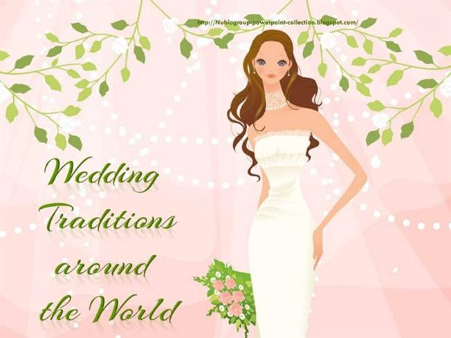 Lucky Wedding Traditions From Around The World: Wedding Traditions Around The World