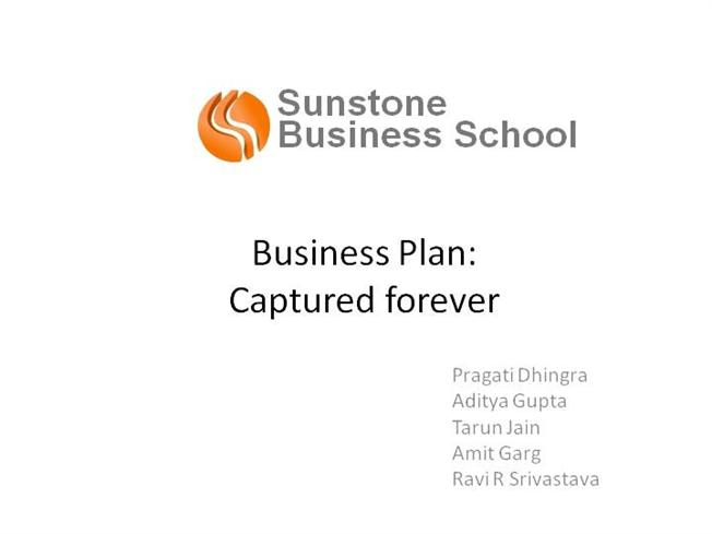 e-commerce business plan ppt free