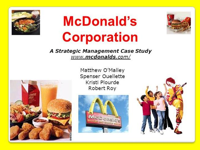 mcdonalds final powerpoint authorstream. Black Bedroom Furniture Sets. Home Design Ideas