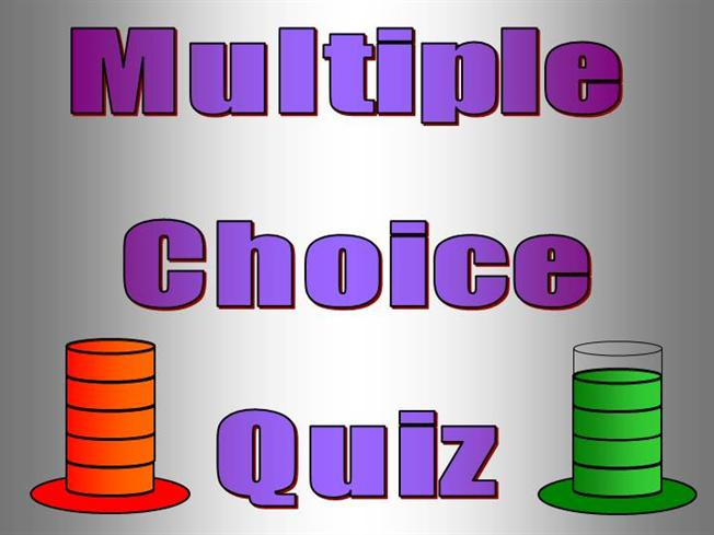 Interactive tefl game template quiz multiple choice for Multiple choice questionnaire template