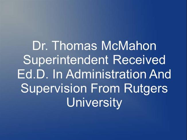 rutgers powerpoint template - dr thomas mcmahon superintendent authorstream