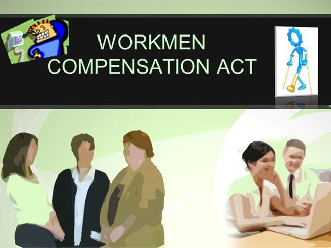 workmens compensation act The workmen compensation act is the first measure of social security introduced in 1923 came into force from 1st july 1924.