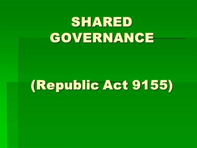 Republic act 9155