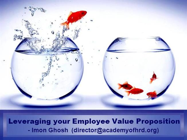 hr ppt templates free download - leveraging your employee value proposition imon ghosh