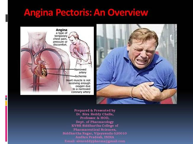 Angina Overview