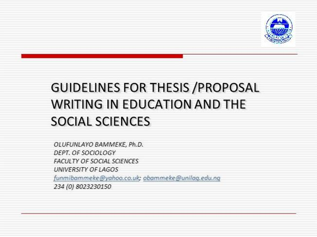 Phd research proposal powerpoint presentation