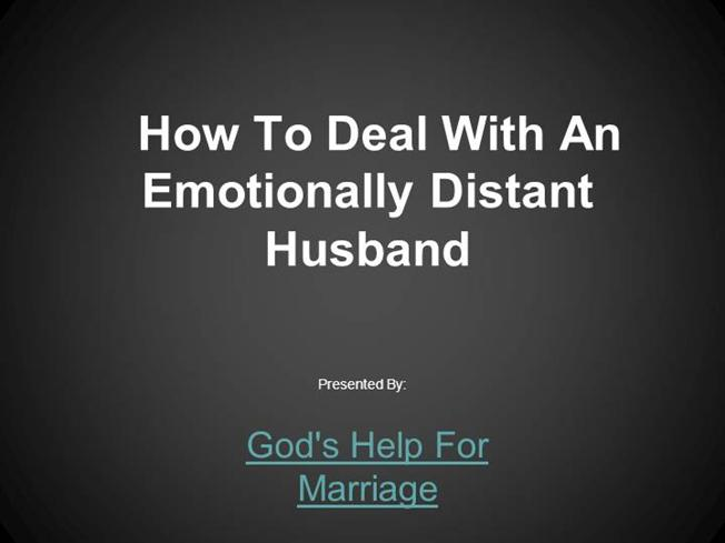 emotionally distant woman