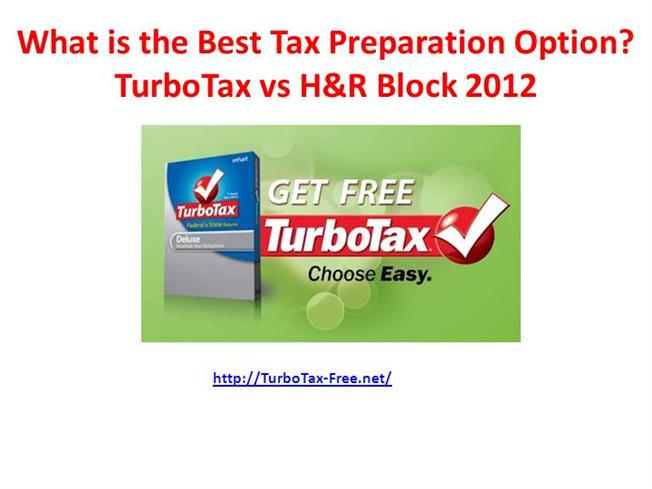 Tax Software Comparison: TurboTax vs. H&R Block vs. TaxAct While we have found TurboTax to be the best tax software option overall, all of the main competitors have something unique to bring to the table.