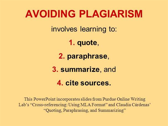 The Gray Areas of Plagiarism