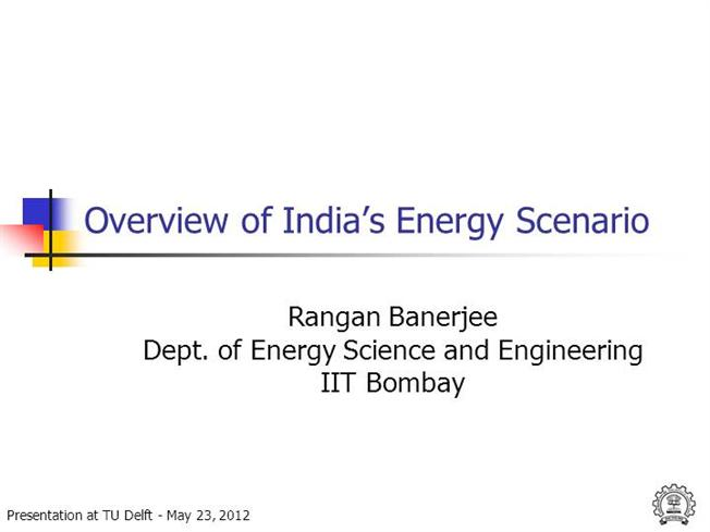 Essay on indian energy synario
