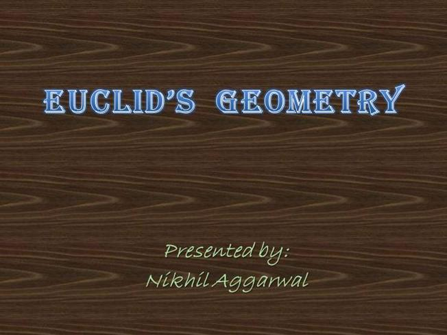 Euclid Geometry Class 9 Ppt – images free download