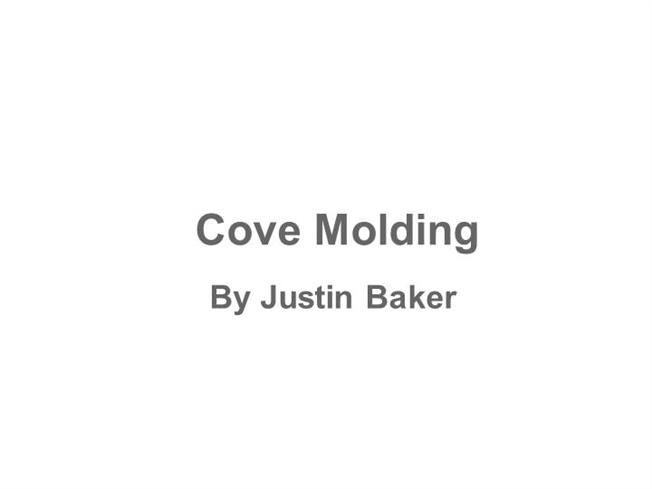 coving corner template - how to cut cove molding authorstream