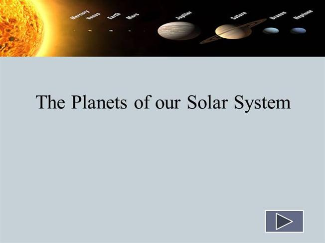 The Planets of Our Solar System |authorSTREAM