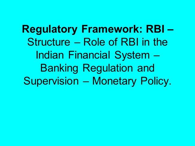 Functions / Duties of the RBI Governor