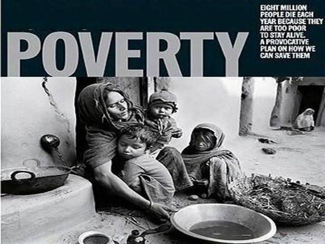 Poverty as a critical issue in