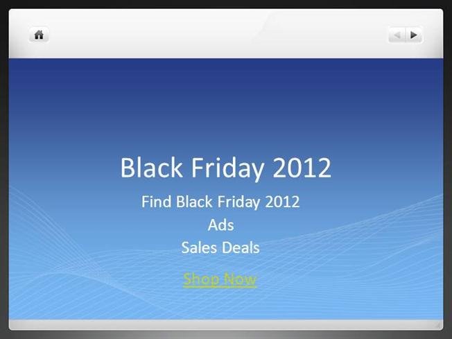 Black friday 2012 ads sales deals authorstream for Walmart powerpoint template