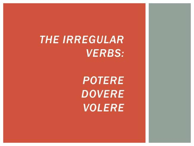 Potere dovere and volere authorstream for Volere template free download