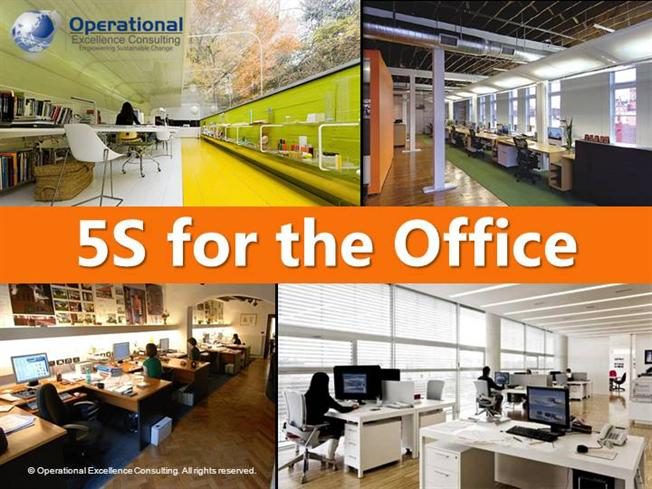 5s For The Office By Allan Ung Operational Excellence