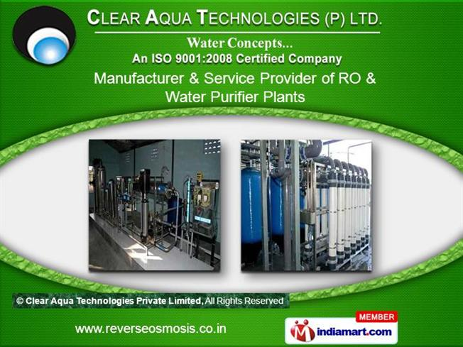 Nano Filtration By Clear Aqua Technologies Pvt Ltd
