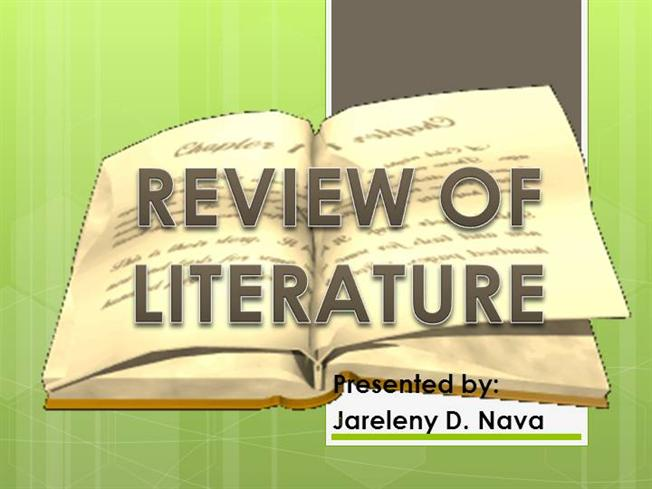 REVIEW of RELATED LITERATURE AND STUDIES |authorSTREAM