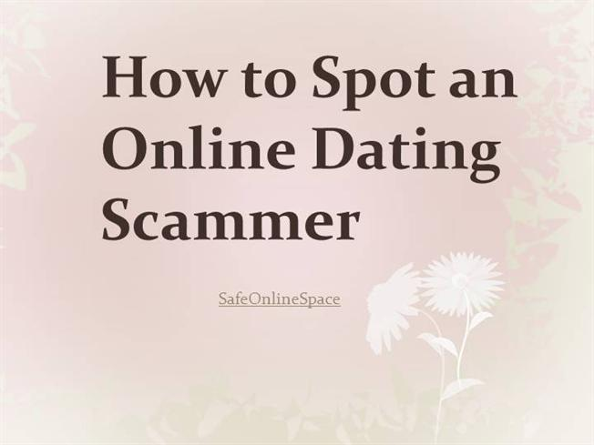 How to spot a scammer online dating