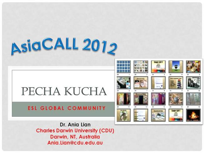 Pecha kucha in esl authorstream for Pecha kucha powerpoint template