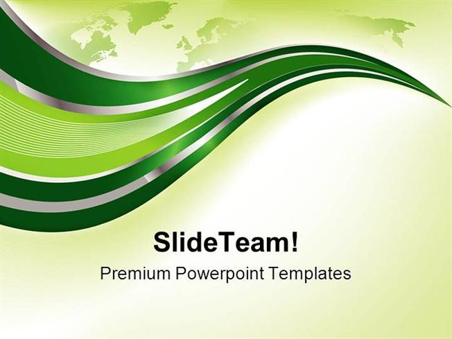 Green Background Powerpoint Templates And Powerpoint