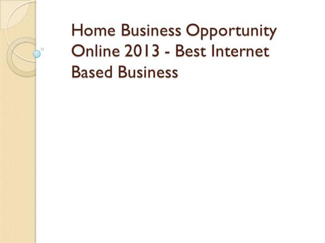 Adult internet home business opportunity