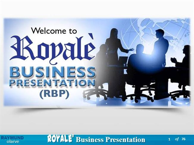 royale business presentation 2013 powerpoint how do you apply the effect
