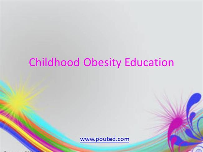 Childhood obesity education ppt presentation for Childhood obesity powerpoint templates