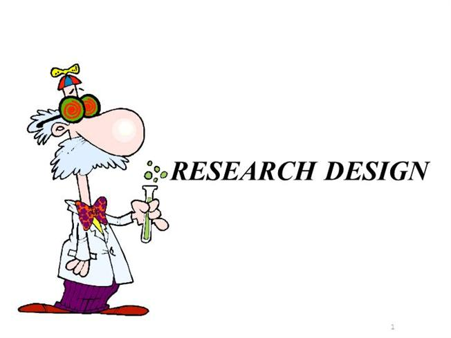 Contents of research design
